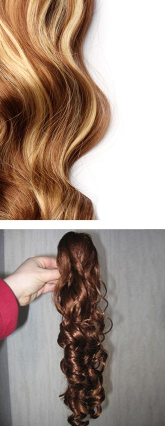סוגי הארכות שיער
